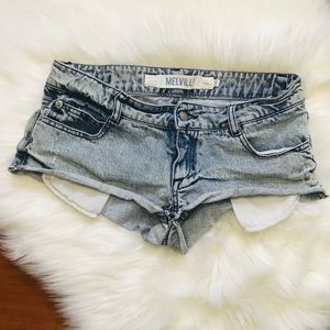 Brandy Melville Denim Shorts Size 40 XS